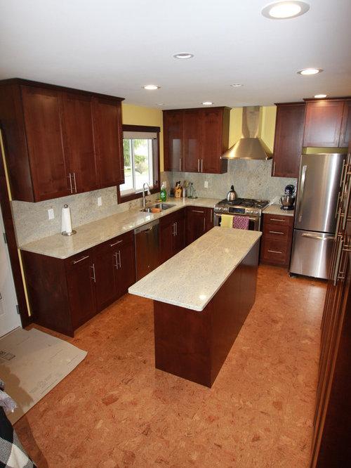 Kitchen Design Ideas, Renovations & Photos with Dark Wood ...