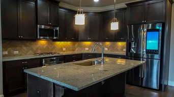 Espresso Stained Cabinets