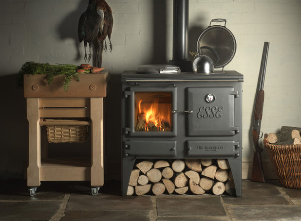 Traditional Kitchen by Orion Heating - Woodburning Stoves