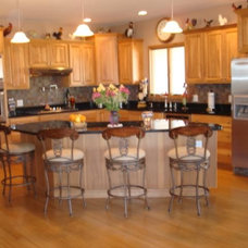 Traditional Kitchen by Esser Custom Cabinets