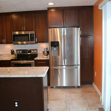 Contemporary Kitchen by Ben Nieves at Lowe's Home Improvement