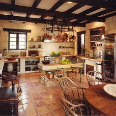 Mediterranean Kitchen by Vining Design Associates
