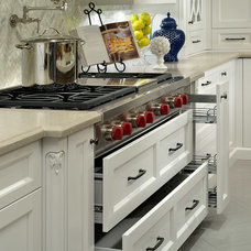 Traditional Kitchen Cabinetry by QTK Fine Cabinetry