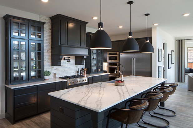 Transitional Kitchen by Normandy Homes