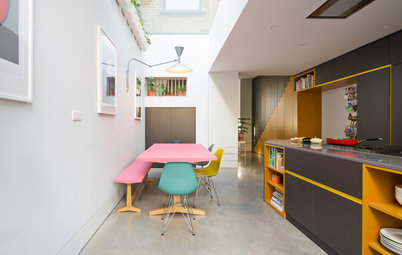 My Houzz: A Radical Reworking of a Victorian Terraced House