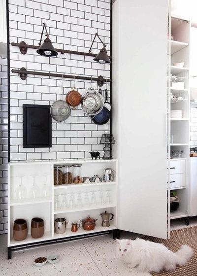 Contemporary Kitchen ETILER CITY APARTMENT