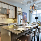 Solitude Point Rustic Kitchen Raleigh By Ecologic