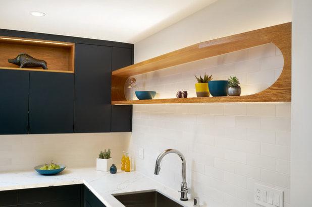 Midcentury Kitchen by Eisenmann Architecture