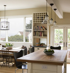 traditional kitchen by Boor Bridges Architecture