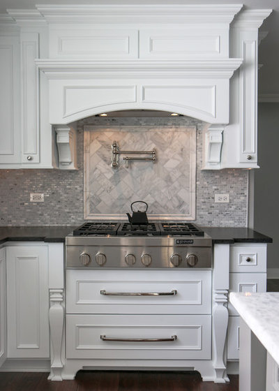 Traditional Kitchen by Euro Tech Cabinetry and Remodeling Corp
