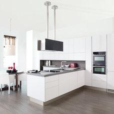 Contemporary Kitchen by American Tile and Stone/Backsplashtogo