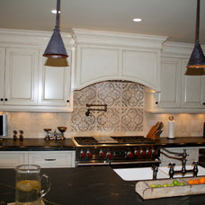 Traditional Kitchen by D'Amore Designs