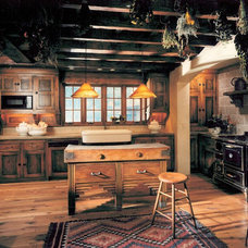 Farmhouse Kitchen by Bruce Kading Interior Design