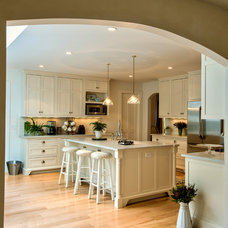 Farmhouse Kitchen by George Clemens Architecture, INC