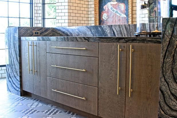 Eclectic Kitchen by KE Design Studio