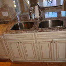 Mediterranean Kitchen by Ahearn Cabinetry Designs, LLC
