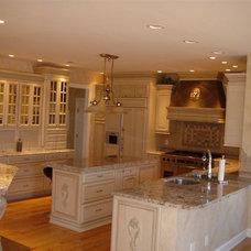Mediterranean Kitchen by Ahearn Cabinetry Designs, LLC