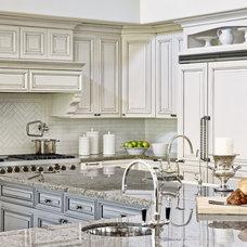 Mediterranean Kitchen by Palm Design Group
