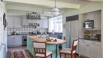 European Style Kitchen Update in Lake Forest