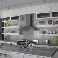 Contemporary Kitchen by Jaclyn Wike - Kitchen and Bath Designer