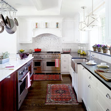 Traditional Kitchen by Bardes Interiors