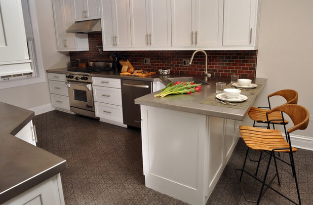 Contemporary Kitchen by Nicholas Moriarty Interiors (NMI, LLC.)