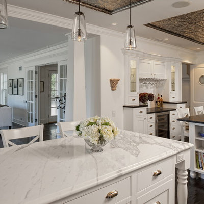 Inspiration for a timeless open concept kitchen remodel in Chicago
