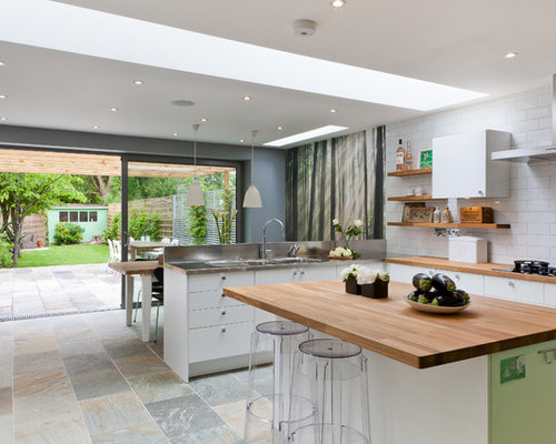 34 862 Mid Sized Contemporary Kitchen Design Ideas