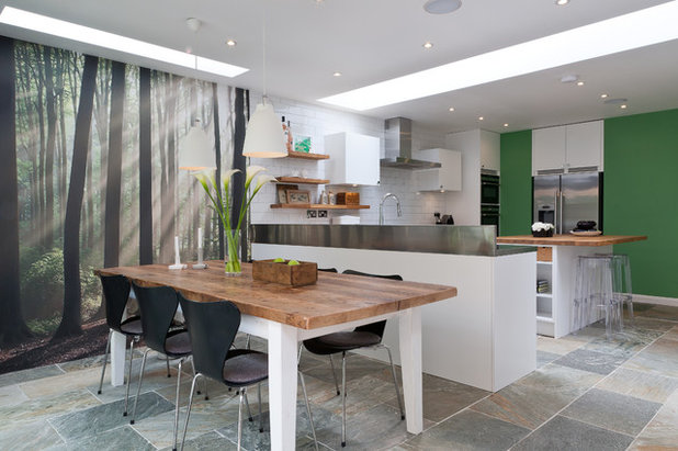 Contemporary Kök by 50 Degrees North Architects