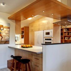 Contemporary Kitchen by Brandt Design Inc