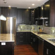Contemporary Kitchen by Stewart Design
