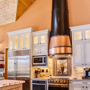 Evergreen Log Home Kitchen Renovation