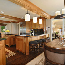 Traditional Kitchen by The Pence Associates Architects