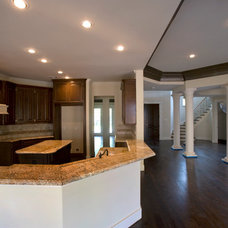 Contemporary Kitchen by Savannah Construction
