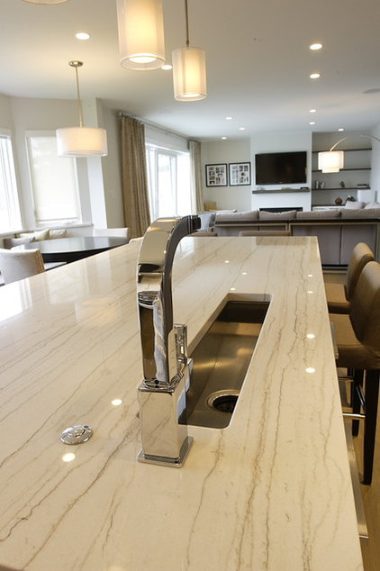 Contemporary Kitchen by Blackfish Homes Ltd.