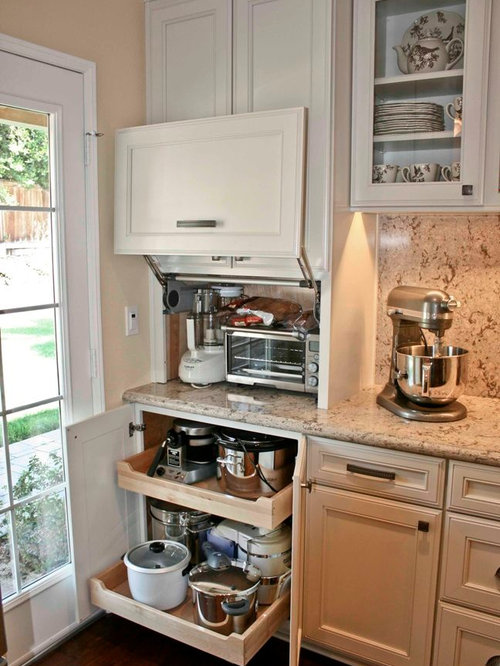 Small Appliance Storage | Houzz