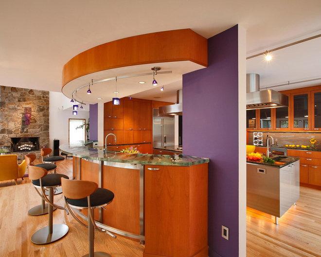 Modern Kitchen by Alex Esposito AIA, Architects
