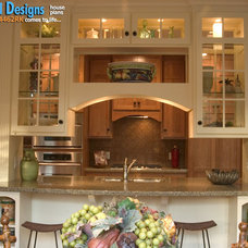 Craftsman Kitchen by Architectural Designs