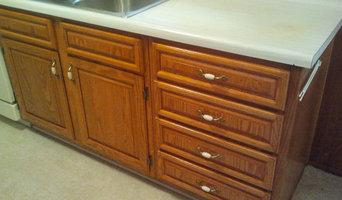 Existing Kitchen Cabinet Upgrade with New Hardwood Raised Panel Doors & Drawers