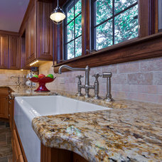 Traditional Kitchen by Flemington Granite & Architectural Supply