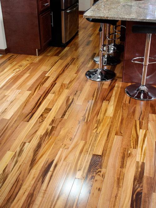 Exotic Brazilian Tigerwood Koa/ Prefinished - Hardwood Flooring