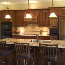 Mediterranean Kitchen by West Side Lumber/ACE/Kitchen & Bath Design Center