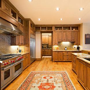 Expansive Craftsman Style Kitchen