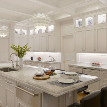 Expansive Traditional Kitchen