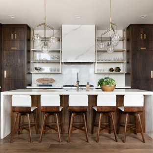 Mid-century modern kitchen inspiration - Inspiration for a 1960s kitchen remodel in Salt Lake City