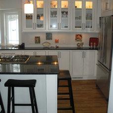 Eclectic Kitchen by Sara Dakoske