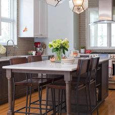 Transitional Kitchen by Minnesota Cabinets, INC