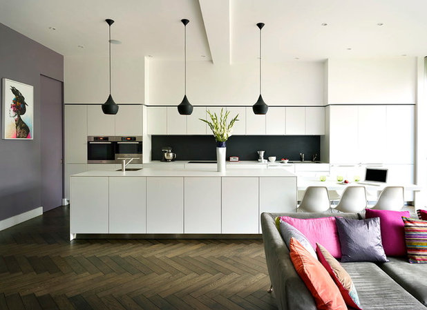 Contemporary Kitchen by Thomas de Cruz Architects & Designers