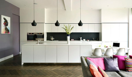 Foolproof Kitchen Colour Combo: Black and White