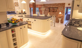Extension with Laura Ashley kitchen